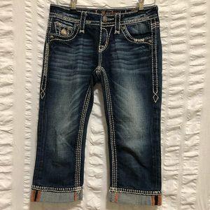 Rock Revival Kella Crop Jeans
